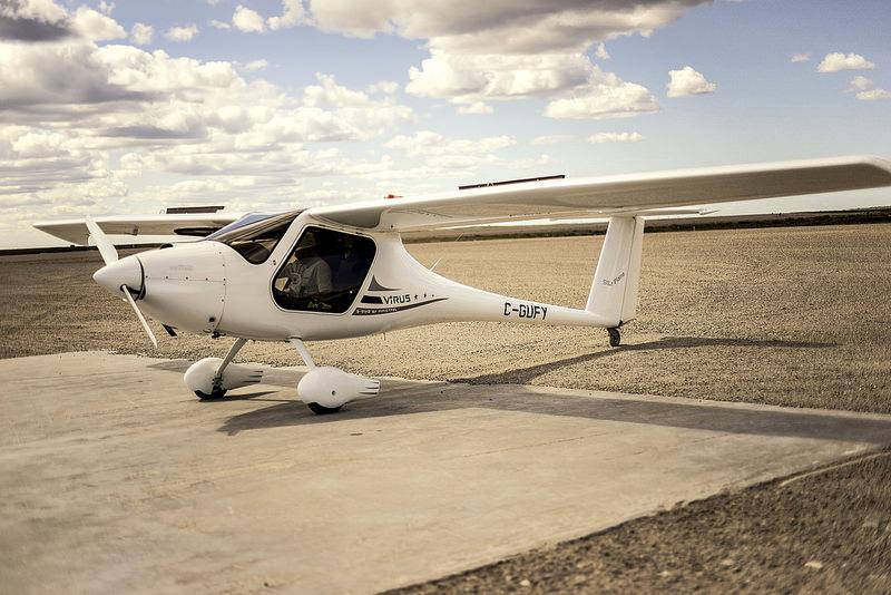 动力滑翔机